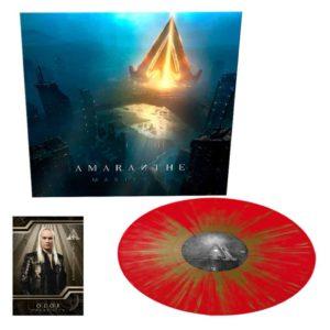 Amaranthe, LP, Manifest, RED/GOLD SPLATTER, Limited Edition