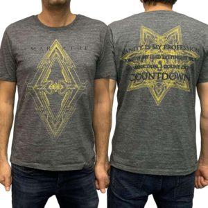 Amaranthe, T-Shirt, Countdown. dunkelgrau
