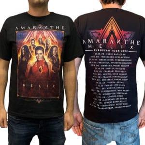 Amaranthe, T-Shirt, Helix Tour 2018
