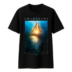 Amaranthe, T-Shirt, Manifest Cover
