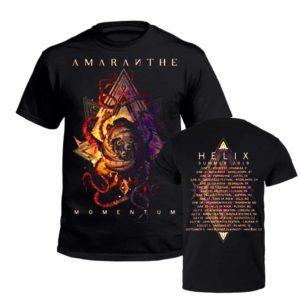 Amaranthe, T-Shirt, Momentum Tour Summer 2019