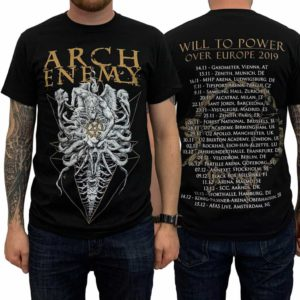 Arch Enemy, T-Shirt, A Fight I Must Win Tour 2019