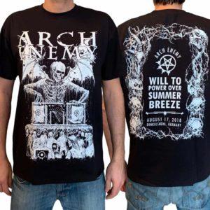 Arch Enemy, T-Shirt, Summer Breeze 2018