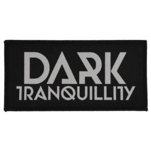 Dark Tranquillity, Aufnäher, Logo schwarz