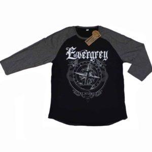 Evergrey, 3/4-Arm Longsleeve, Compass
