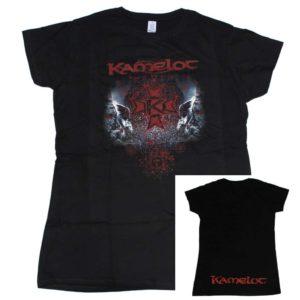 Kamelot, Girlie Shirt, Red Skull Logo