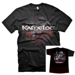 Kamelot, T-Shirt, Tri-Logo