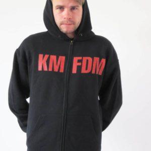 KMFDM, Kapuzenjacke, Logo