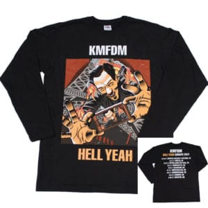 KMFDM, Longsleeve, Hell Yeah Tour 2017 (Limited Edition)