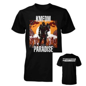 KMFDM, T-Shirt, Paradise