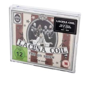 Lacuna Coil, 2CD & DVD, 119 Show - Live in London, signiert