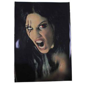 Lacuna Coil, Big Size Signed Cristinas Picture, signiert