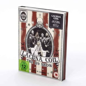 Lacuna Coil, Digi-Pack, Bluray & DVD & 2CD, 119 Show - Live in London, signiert