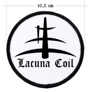 Lacuna Coil, Patch, white