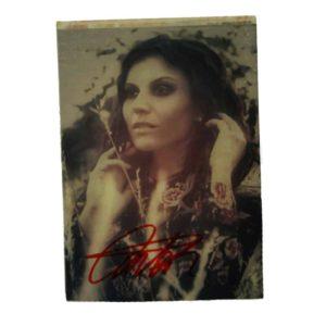 Lacuna Coil, Small Size Cristinas Picture, signiert