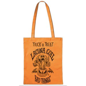 Lacuna Coil, Tote Bag, Bad Things 2020, orange