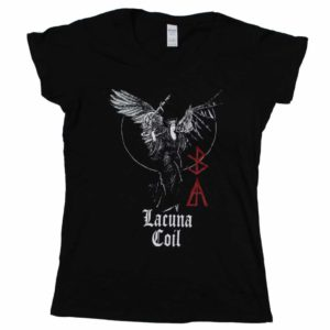 Lacuna Coil, V-Neck Girlie-Shirt, Layers Of Time
