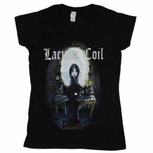 Lacuna Coil, V-Neck Girlie-Shirt, Mirror
