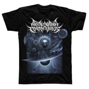 Metal Against Coronavirus, T-Shirt, Petagno