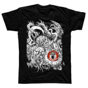 Metal Against Coronavirus, T-Shirt, Toderico