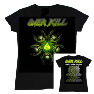 Overkill, Girlie-Shirt, Tour Autumn 2019