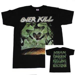 Overkill, T-Shirt, Mean Green