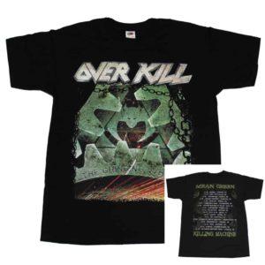 Overkill, T-Shirt, Tour 2017, Album Cover