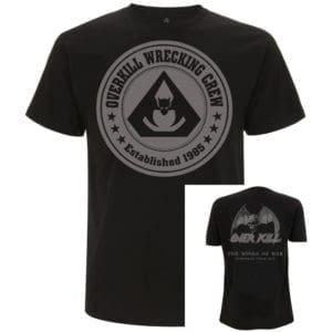 Overkill, T-Shirt, Wrecking Crew 2019