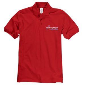 Polo-Hemd Kurzarm, rot