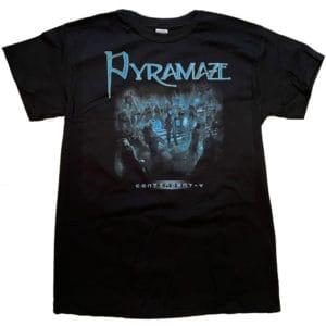 Pyramaze, T-Shirt, Contingent - Cover