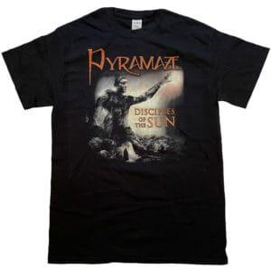 Pyramaze, T-Shirt, Disciples of the Sun - Cover
