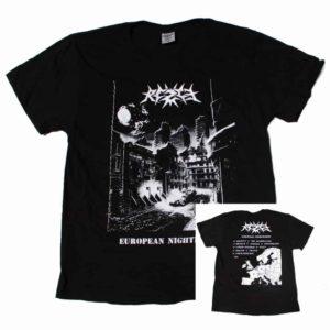 Rezet, T-Shirt, European Nightmares, schwarz