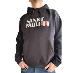 St. Pauli, Kapuzenpullover, Black Flag