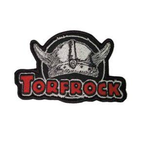 Torfrock, Aufnäher Kontur, ca. 10,5 x 7cm