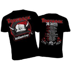 Torfrock, T-Shirt, 30. Bagaluten Wiehnacht 2019