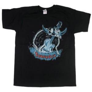 Torfrock, T-Shirt, Gitrarre