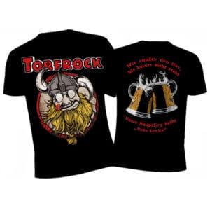 Torfrock, T-Shirt, Rollo