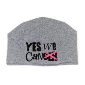 """yeswecan!cer, Beanie """"yeswecan!cer"""""""