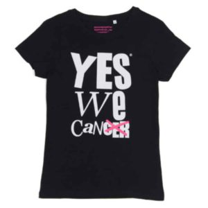 yeswecan!cer, Organic Girlie Shirt, schwarz