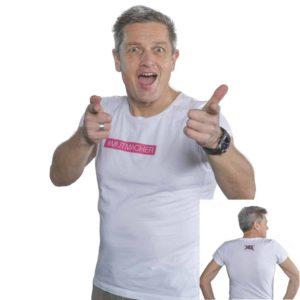 yeswecan!cer, Organic T-Shirt, Mutmacher, weiss
