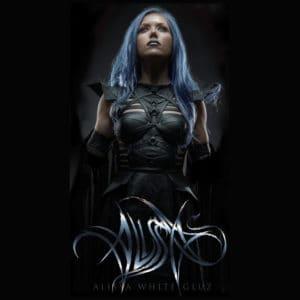 Alissa White-Gluz, T-Shirt, Lightning