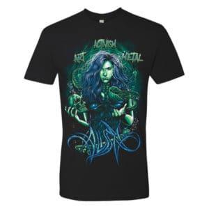 Alissa White-Gluz, T-Shirt, Nautilissa