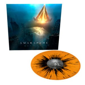 Amaranthe, LP, Manifest, ORANGE/BLACK SPLATTER, Limited Edition