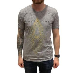 Amaranthe, T-Shirt, Countdown. hellgrau