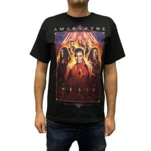 Amaranthe, T-Shirt, Helix Tour 2019