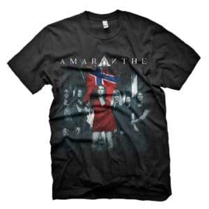 Amaranthe, T-Shirt, Norway 2019