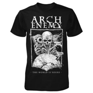 Arch Enemy, T-Shirt, The World Is Yours, black