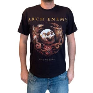 Arch Enemy, T-Shirt, Will To Power Tour 2018