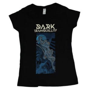 Dark Tranquillity, V-Neck Girlie Shirt, Tour 2017