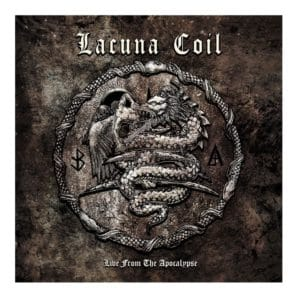 Lacuna Coil, Live From The Apocalypse, Limited Edition, CD + DVD